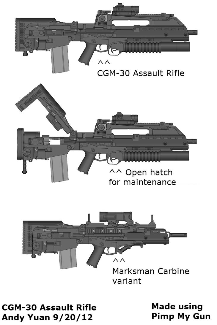 My CGM-30 by Pimp My Gun 2 by c-force