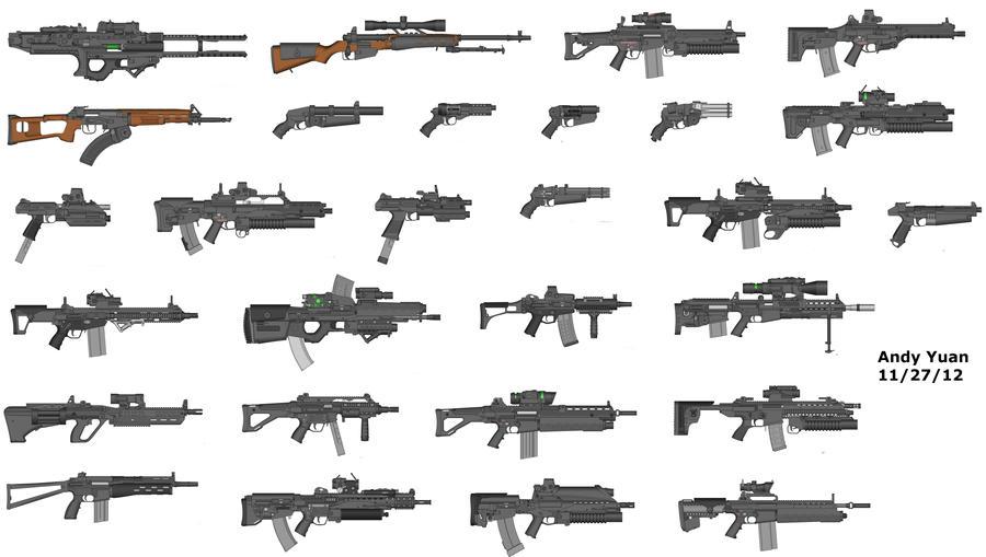 Rifles by Pimp My Gun 17 by c-force