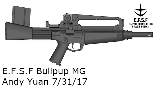 EFSF Bullpup MG by c-force