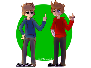 Tom and Tord green screen
