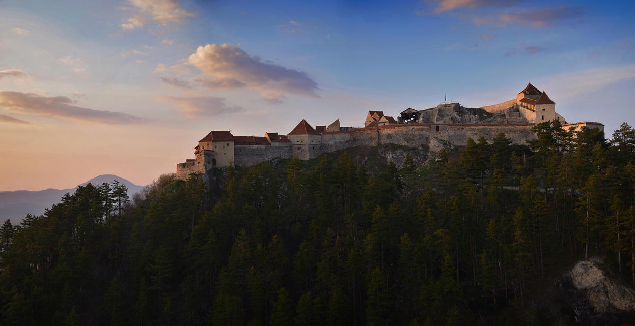 Stronghold at sunset by rsmart