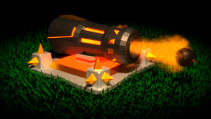 Clash of Clans Cannon