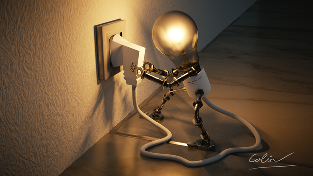 Living Lightbulb