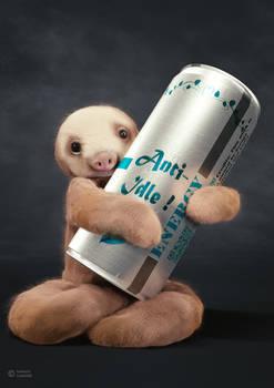Energized Sloth