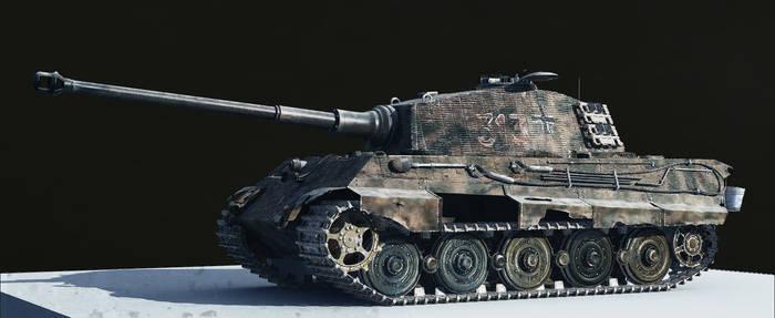 Tiger II, WIP