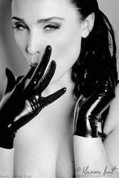 Gloves fetish by MaximsPhotos