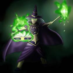 Dark Magician by MasterBau