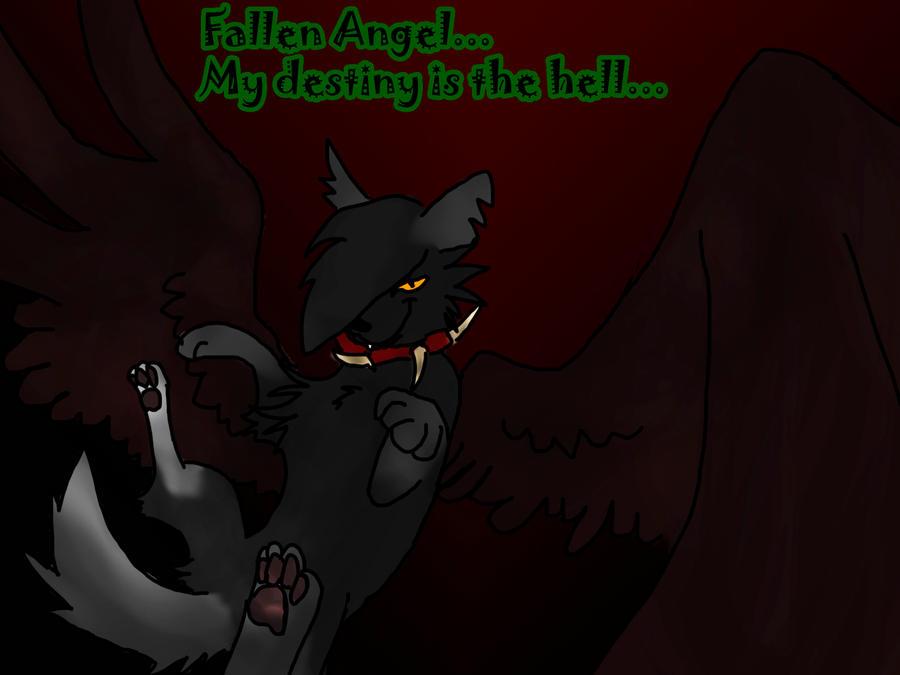 ....Fallen Angel.... by wolfXDlove