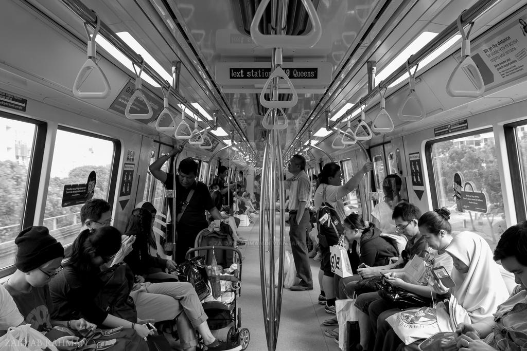 Singapore Train by ZaidABRahman