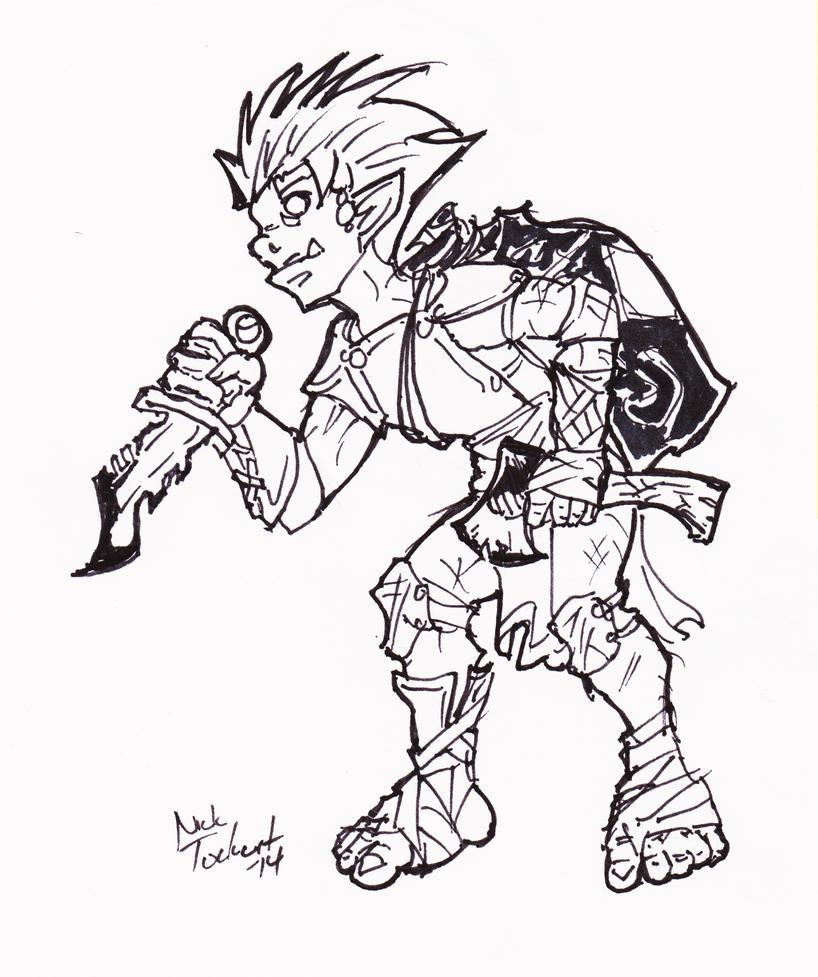 Archetype Goblin 1 by NickT