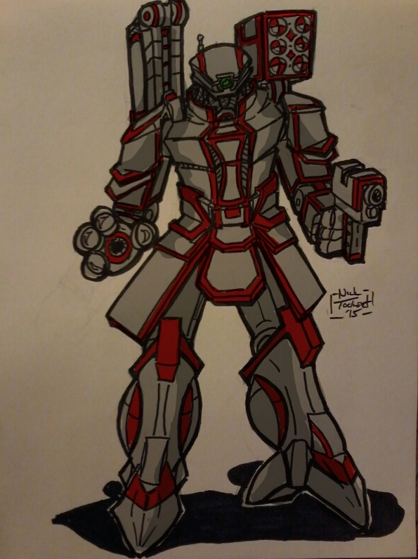 AC5 Submission Mecha 5 by NickT