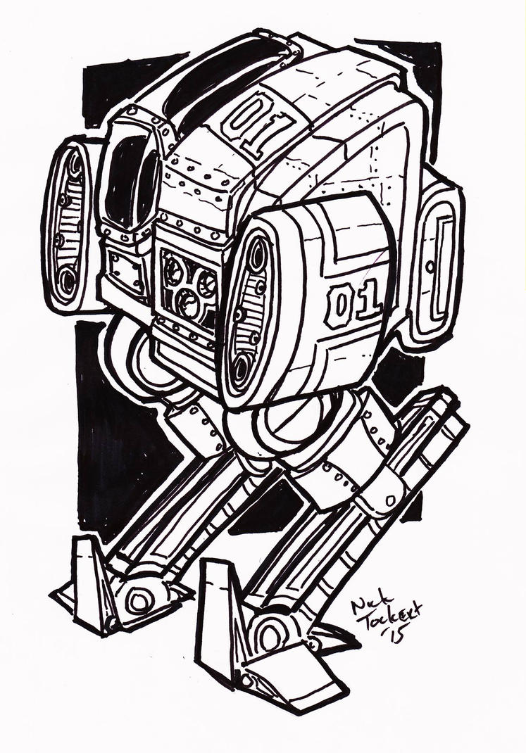 01 patrol LBSR linework by NickT