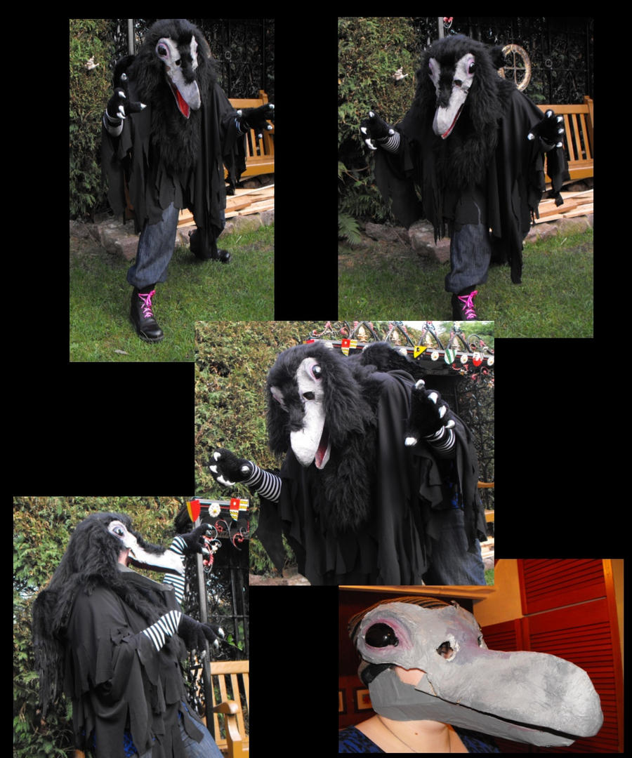 Crow Costume - Viewing...