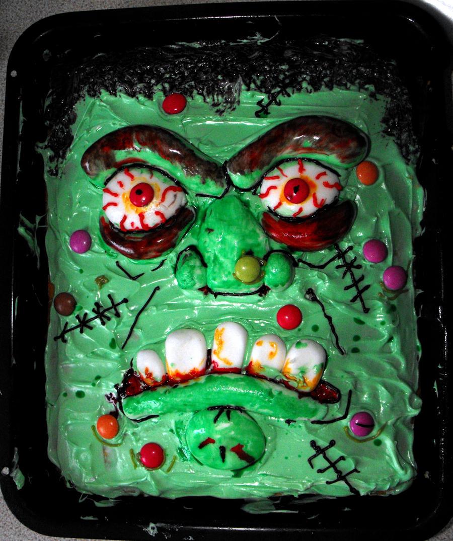 Frankenstein's cake monster