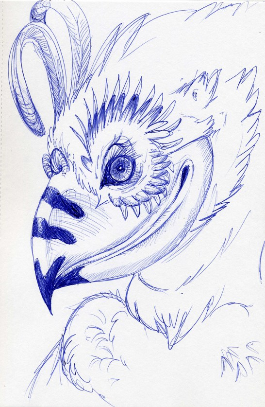 Ame's Art Biro_Bird_by_metalik_fairy