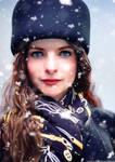Rebecca F in winter