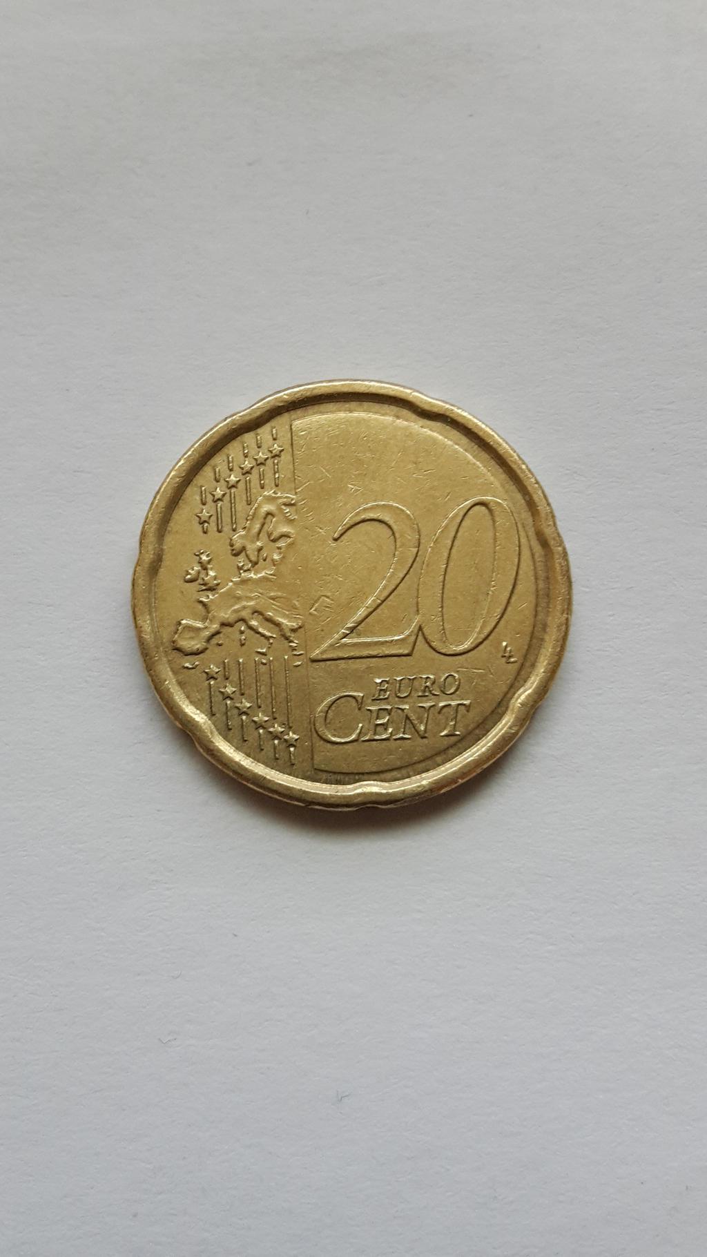 Fehlprägung 20 Cent Numismatikforum