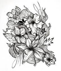 random flowers by ShangaiLily