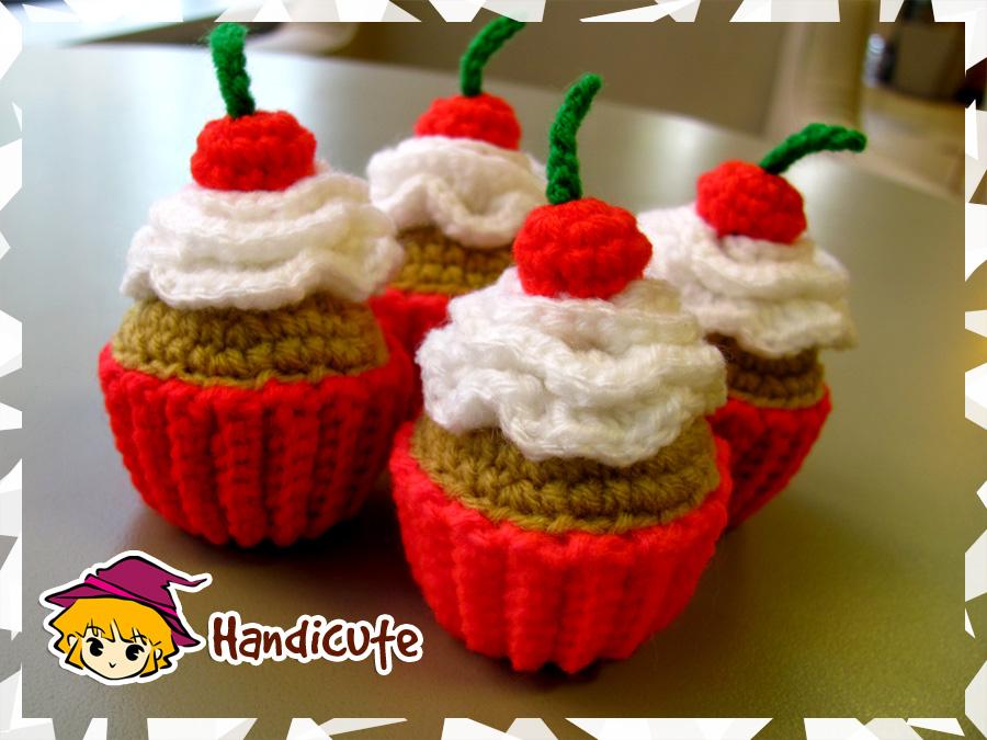 Amigurumi Food : Cupcake amigurumi by imuya on deviantart