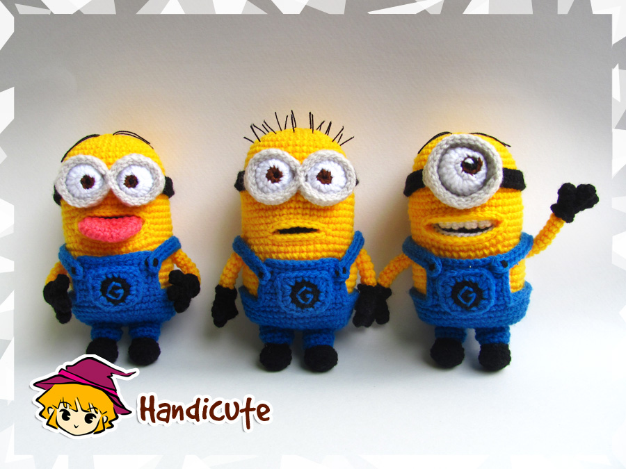 Minions Amigurumi #1 by imuya on DeviantArt