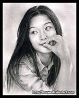 1st Jeon Ji Hyun by imuya