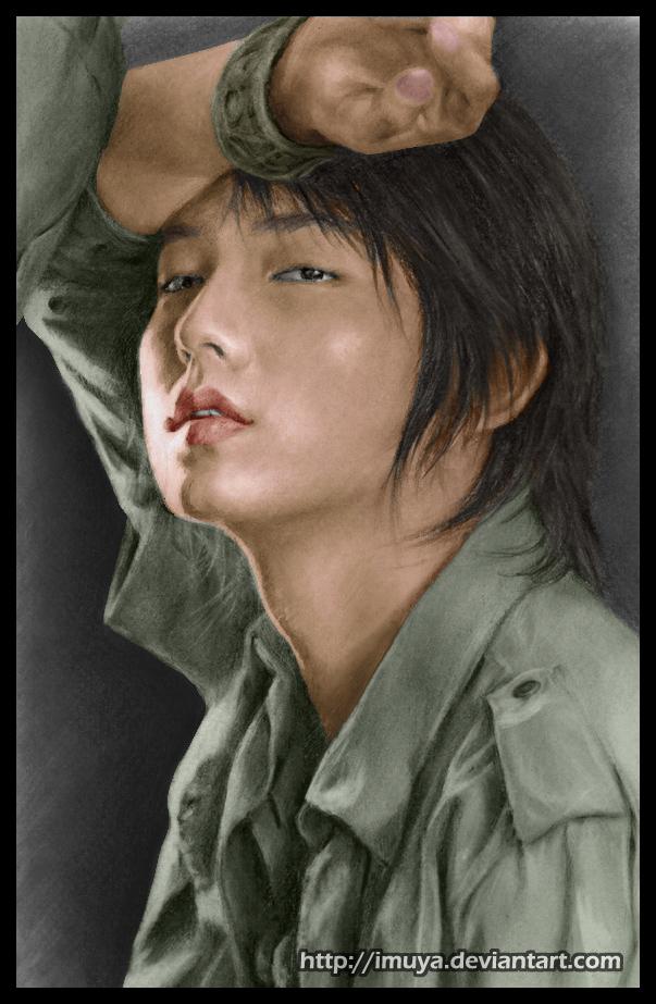Colored 3rd Lee Jun Ki by imuya
