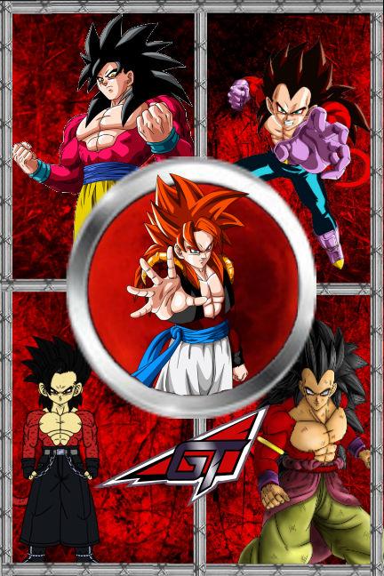 Dragon Ball GT: Retold Saga by Rojoneo
