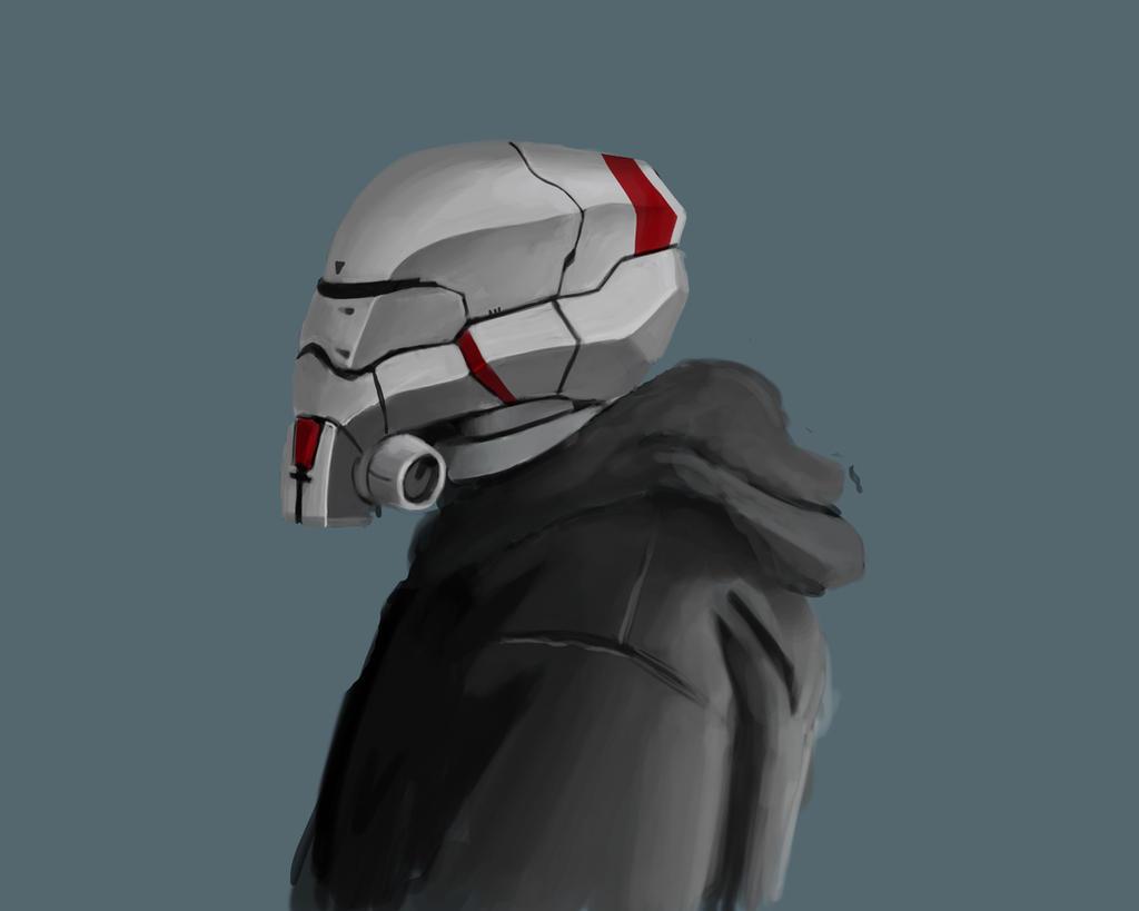 Helmet head by winkla12