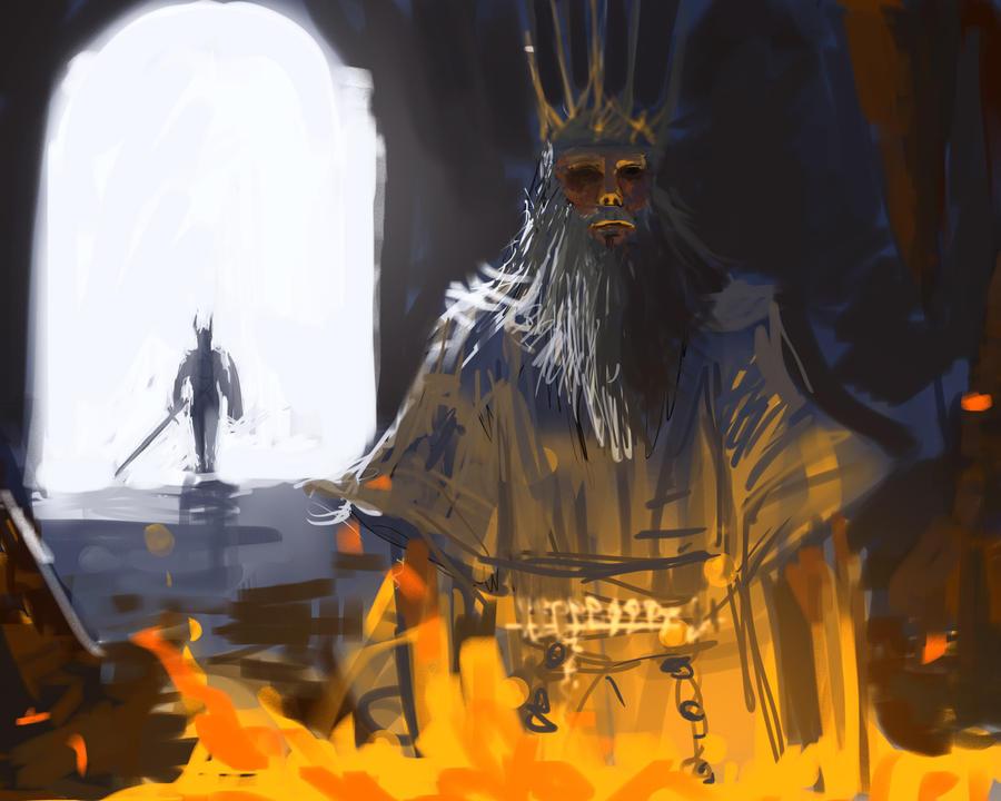 Soul Of Cinder Fan Art: Lord Of Cinder By Winkla12 On DeviantArt