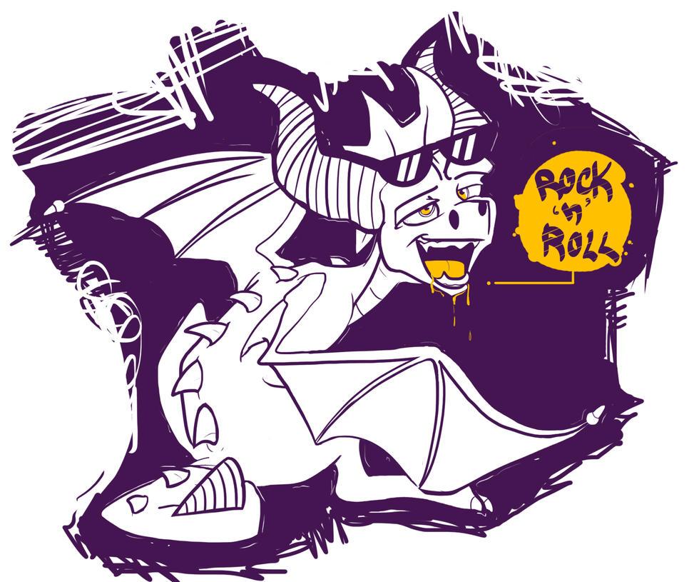 ROCK 'n' ROLL by LollipopHorizon