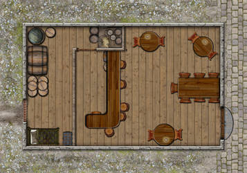 The Old Post Tavern by Lanerso