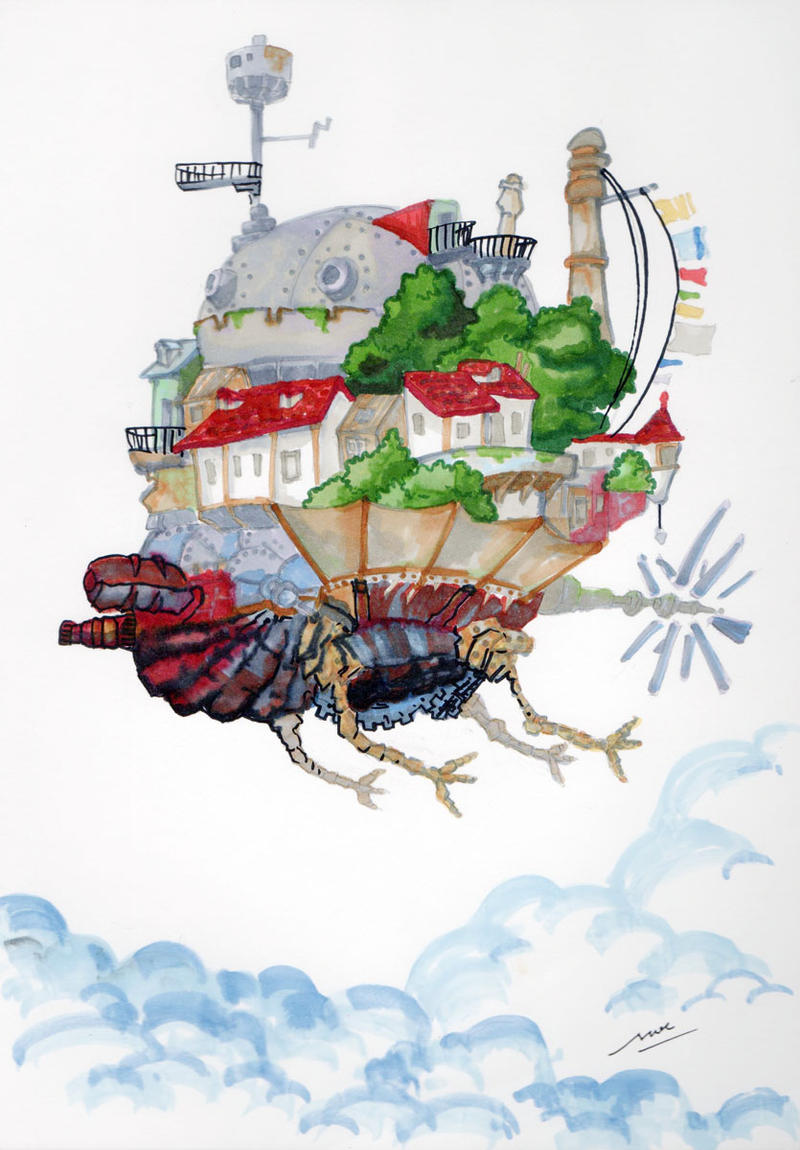 castle flying mode by moemodule