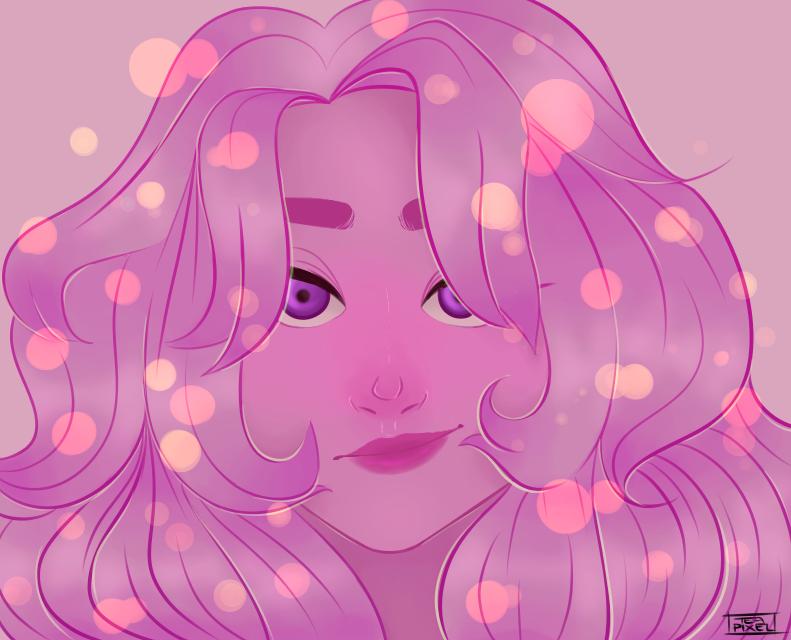 purple bab by teapixelart