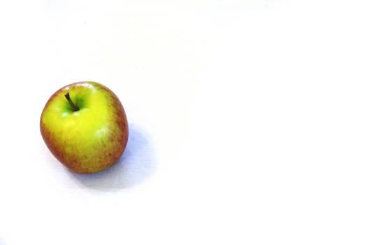 Apple-White Background 2