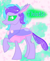 Changling OC Thistle by HaileyCatPanter13