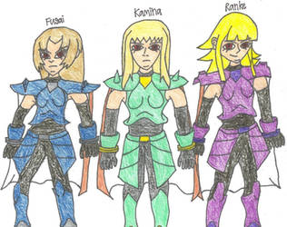 Girls from Naruto StoneofGelel by Ford1114