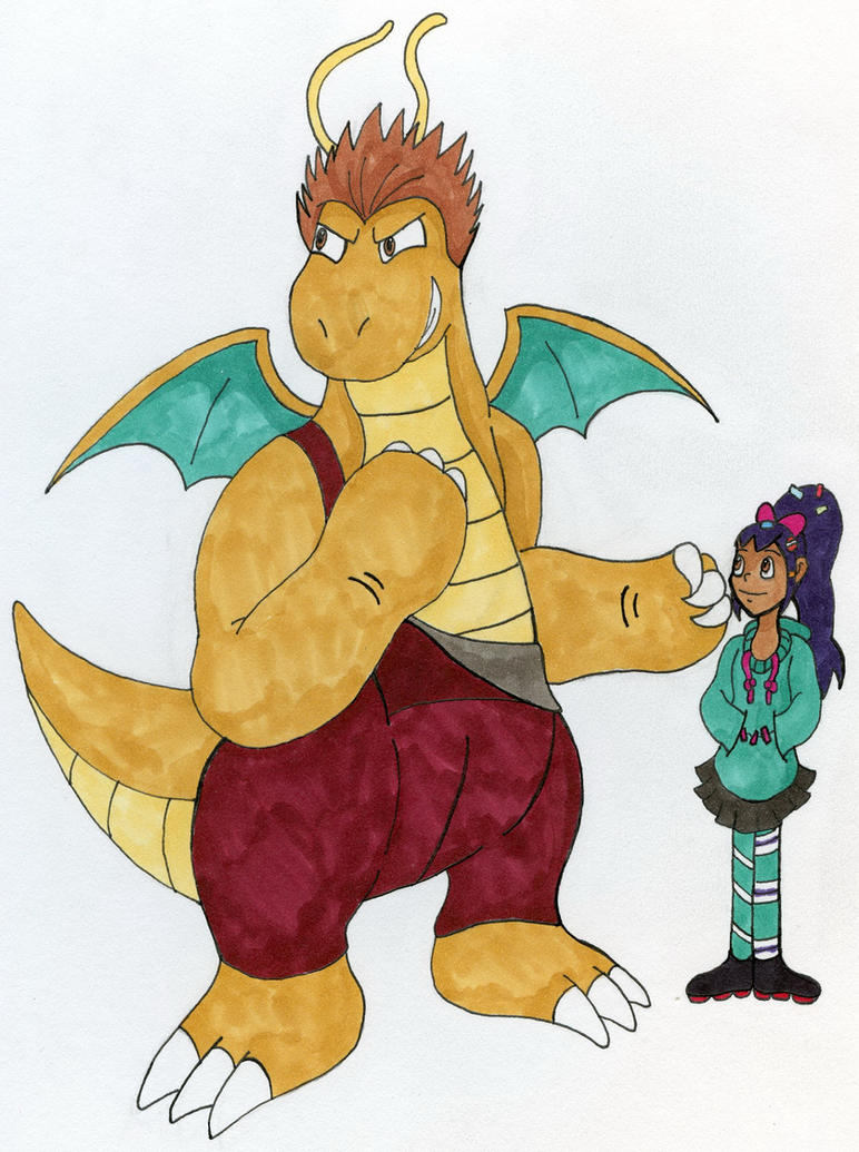 Iris and Dragonite by Ford1114