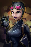 Catwoman by glencanlas