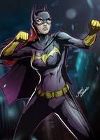 Batgirl by glencanlas