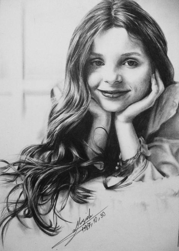 Drawing Abigail Breslin
