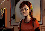 The last of us Ellie by Maggy-P