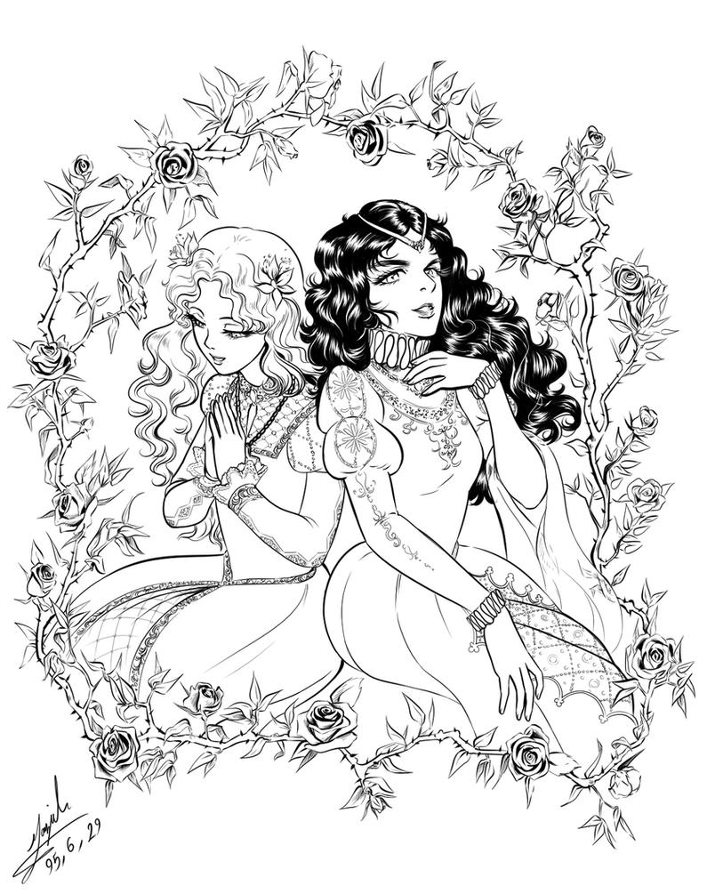 Two Princess by Maggy-P