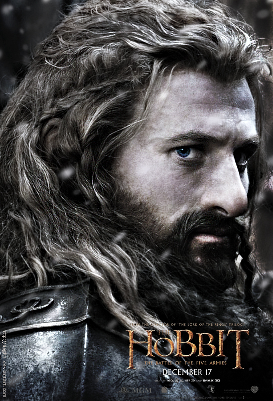 Movies reviews by yourself - Page 16 Fili_poster___the_hobbit__battle_of_five_armies_by_aeglys-d82nrk9