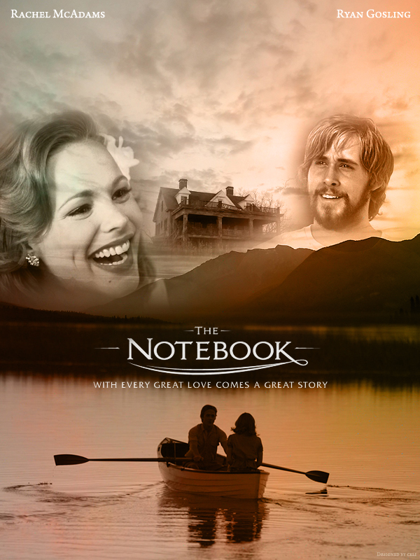 fan poster the notebook by amidsummernights on deviantart
