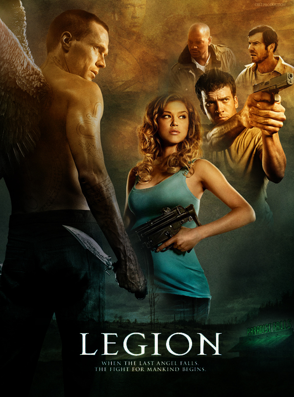 Fan poster Legion by amidsummernights