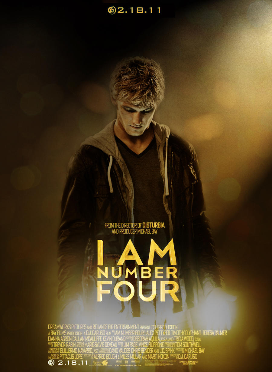 I Am Number Four Fan Poster by amidsummernights on DeviantArt I Am Number Four Movie Poster
