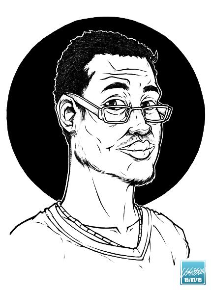 Jonathan - Commission Portrait, 2015 by 02Lei