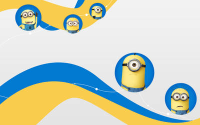 Despicable Me Wallpaper by newbiecolourer