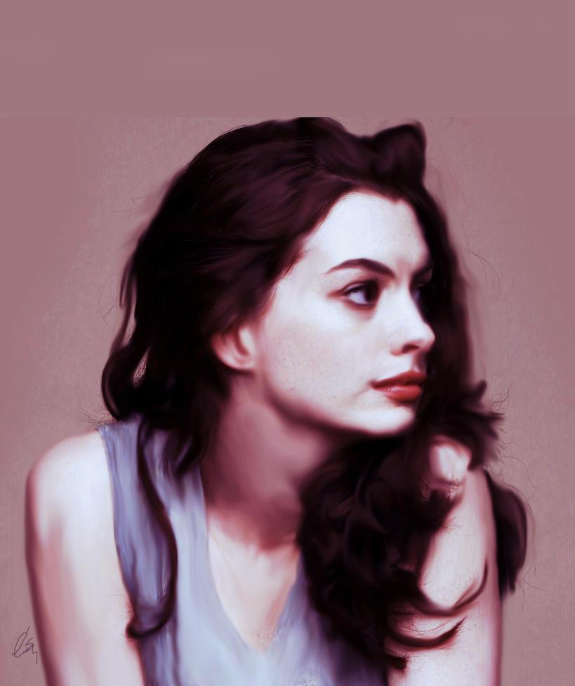 Anne Hathaway By Cahdelsantos On DeviantART