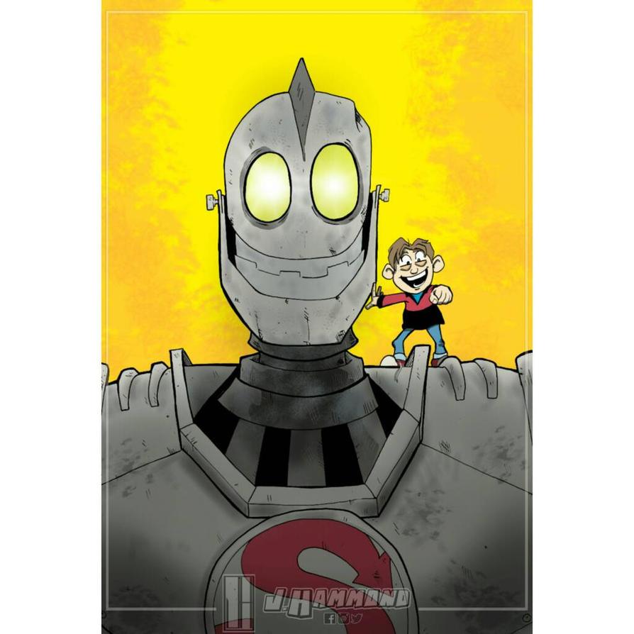 Iron Giant  by jhammondART